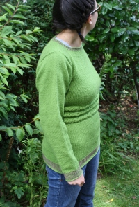 Green cable jumper